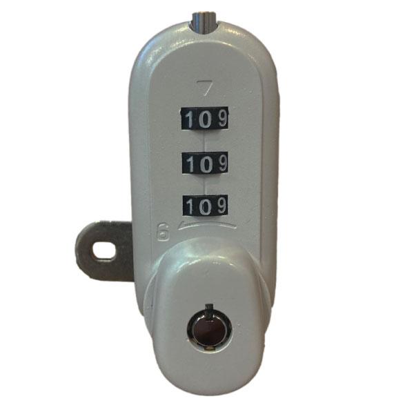 KSQ 7449 CCL Combination Cam Lock Silver