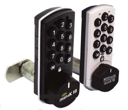 Minik10 Locker Lock with 10 year battery life from KSQ