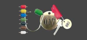 Tamper Proof Key Rings Security Seals Key Tags RFID Card Holders